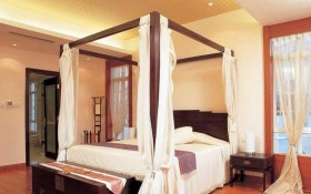中式卧室装修效果图十四