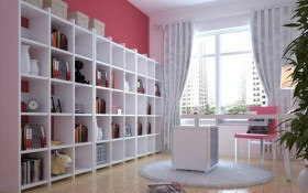 白领家居装修 书房装修效果图