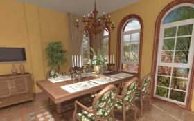 140平家居餐厅装修效果图十四