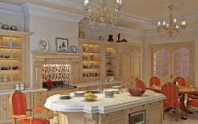 140平家居厨房装修效果图十