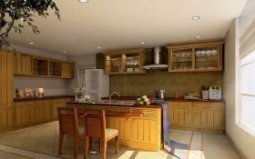 130平西式厨房装修效果图
