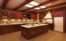 150平家居厨房装修效果图三