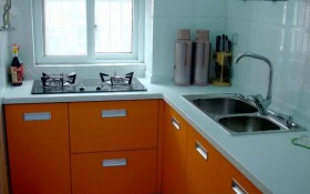名室厨房装修效果图三