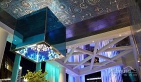 海蓝色的奢华阁楼
