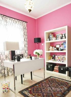 粉红时尚loft风装修效果图
