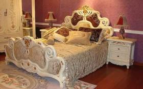 卧室床头软包装修效果图9