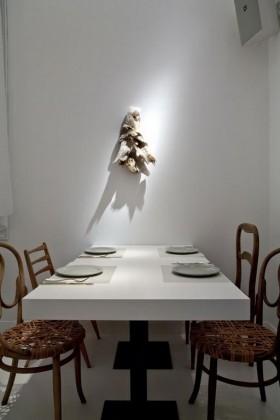白领公寓餐厅内部设计