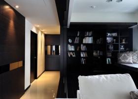 90平米混搭风格家装设计