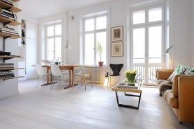 清爽明亮白领公寓室内设计