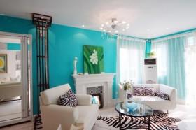 清新蓝色家居装修设计