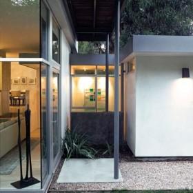 简约装修风格现代住宅 庭院装修效果图