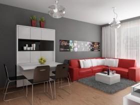 白领公寓室内设计效果图