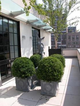 纽约豪华屋顶公寓室内设计