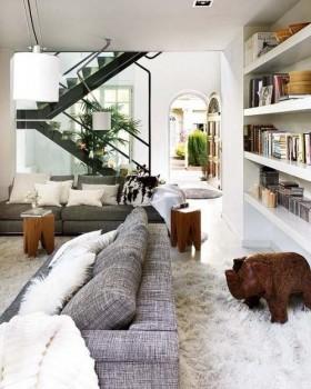 120平巴塞罗那公寓室内设计效果图