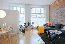 瑞典小户型白领公寓现代设计
