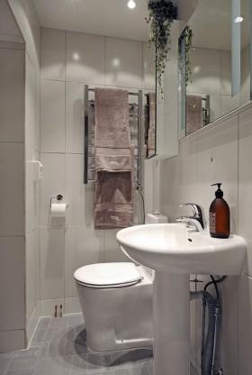 瑞典开放式小户型白领公寓设计