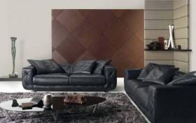120平现代公寓客厅装修图片