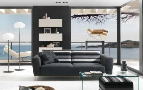 白领家居客厅设计图片欣赏