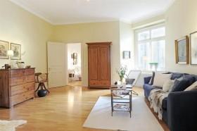 明亮简洁 瑞典白领公寓设计