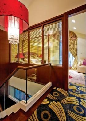 中式魅力:别墅阁楼家居室内设计