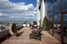 120平莫斯科公寓阳台装修图片