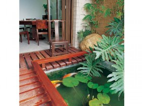 沉稳气质 中式风格花园