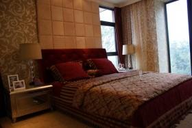 欧式贵族 复古豪宅欣赏 卧室床头软包装修