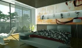漂亮时尚白领卧室设计