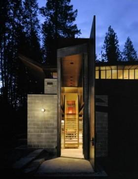小型别墅设计欣赏 庭院装修效果图