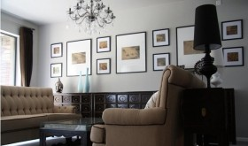 中西式混搭家装 照片墙装修