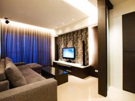 450平现代大户型客厅装修效果图