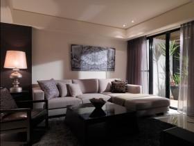 439平现代客厅装修图片
