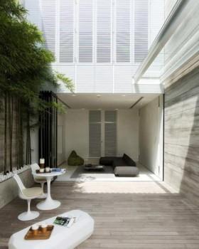 中式新贵族 白色竹林雅韵 庭院装修