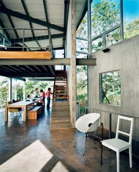 萨尔瓦多的热带雨林现代建筑
