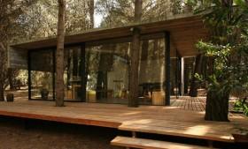 阿根廷低成本村舍 庭院装修效果图