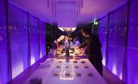 法国巴黎Nomiya屋顶临时餐厅