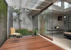 印度尼西亚 D-minution 住宅 庭院装修效果图