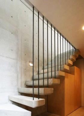 日本Mukouyama别墅楼梯