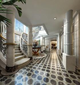 杜向明:北京兴隆别墅室内设计方案