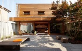 Junction工作室设计的庭院房屋