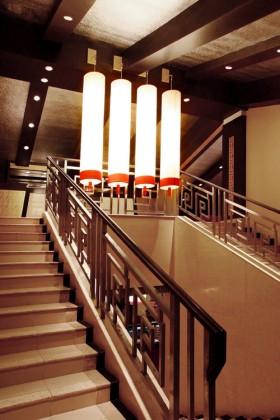 赖旭东:天菱阁餐厅 楼梯装修