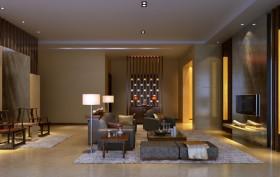 别墅简约舒适客厅装修设计图片