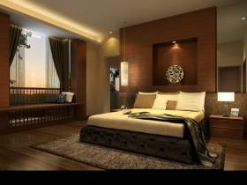 别墅简约舒适卧室装修设计图片