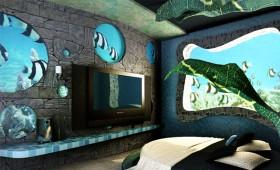王立东:未来海底卧室