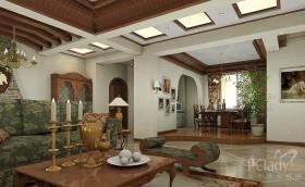 洛卡小镇 西式古典三居室
