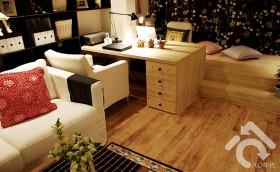 上海88平2居室老房子翻新