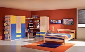 色彩缤纷儿童房 孩子的快乐小天地