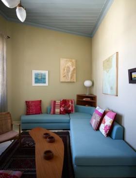 150平方米房子现代简约客厅装修图