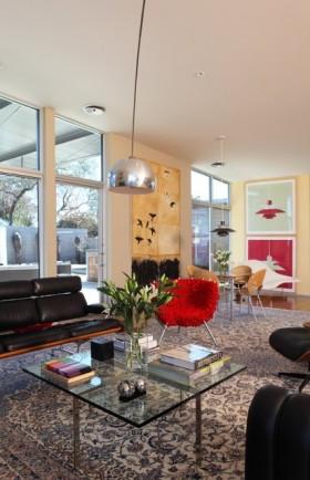 复式客厅装修效果图 简约现代