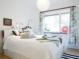 90平小户型宜家风格卧室装修效果图大全2012图片